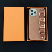 fashion phone case designer With box Iphone 12 pro max 11 pro max 7 8 plus X XR XS MAX case PU leather