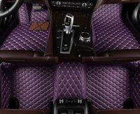 Tapis de plancher de voiture à 5 places personnalisés pour Porsche Cayenne Panamera Macan Cayman Boxster 718 911 Accessoires auto
