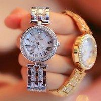 Наручные часы BS Bee Сестра Высокое Качество IP Plaute Case Люкс Женщины Часы Водонепроницаемая Серебряная Оболочка Подарочные Украшения для подруги или жены