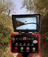 Black Hawk II handheld underground metal detector remote positioning machine can adjust the depth to detect gold, silver, copper and Gemstones