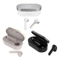 Cuffie wireless BT5.0 T10 T10 TWS Auricolari Bluetooth HiFi Stereo LED Display Touch Control IPX5 Auricolare impermeabile per iPhone 13 12 Pro Max Huawei Xiaomi Samsung