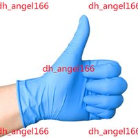 New Disposable Nitrile latex gloves 3 kinds of specifications optional Anti-skid anti-acid gloves B grade rubber glove Cleaning Gloves I180