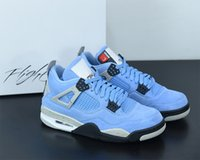 With Mens Basketball Jumpman 4S Shoes Sneakers Size University Fashion Outdoor Running Trainers 4 Topsportmarket Box Blue 7-13 Sports S Nrfi