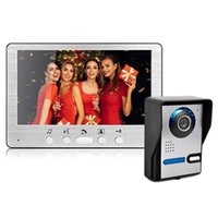 Kapı Zili Shanyishida 7-inç Kablo HD Villa Video Interkom Dış Ünite Açı Ayarlanabilir Toptan Kapı Zili CE, FCC Sertifikası