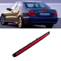 1 Pcs Car LED Third Stop Brake Light Red Lens Rear Tail Lamp Fit For Mercedes Benz E Class W211 2003 2004 2005-2009 2118201556