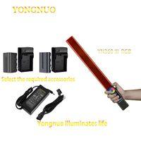 Yongnuo Yn360 Iii Yn360iii Luz De Vídeo Led Toque Handheld Ajustando Com Temperatura Cor Rgb Ajustável Remoto 3200k-5500k Flash Heads