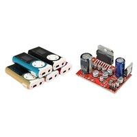 Lettori MP4 1 PCS Mini USB clip player MP3 LCD schermo LCD 16 GB Audio DC 12V TDA7379 38W + 38W Stereo Stereo