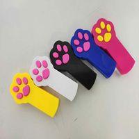 NewNew Footprint Form LED-Lichtlaser-Tease Lustige Katzenstangen Haustierspielzeug Kreativ 2021