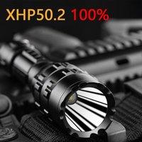 150000CD XHP50.2 전술 LED SureFir USB 강력한 토치 18650 또는 26650 배터리 방수 사냥 빛 손 XML2 손전등 횃불에
