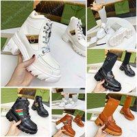 Klasik Bayan Örgü Orta Üst Rahat Çizmeler Ayakkabı Sneaker Roma Deri Bayanlar Platformu Elbise Yürüyüş Eğitmen Dantel-up Sneakers Chaussures Shoe008 1-1