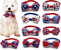 Собака Bowtie США Флаг стиль домашних животных щенок кошка ожерелье воротник