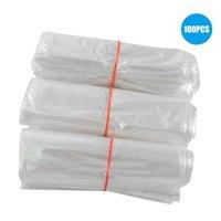 أكياس التخزين 100 قطع تقليص التعبئة والتغليف شفافة متعددة الأغراض مقاومة المسيل للدموع آمنة وغير سامة حقيبة مختومة