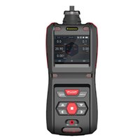 portable 5-in-1 gas detector CO H2S O2 Ex CO2 meters gas analyzers With built-in pump For industry