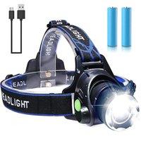 Фара Pocketman Zoom Feamight 18650 Аккумуляторная головная лампа Водонепроницаемый факел Супер яркие световые фары