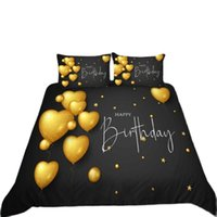 Bedding Sets Birthday Party Gift Balloons Set Bedroom Decor Kids Girls Gifts Duvet Comforter Cover 2 3 Pieces Bedspread Pillowcase