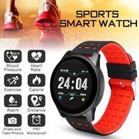 Спортивные цифровые часы Мужская активность трекер калорийность шагомер расчет расстояния Bluetooth вызовов напоминание о наложении для iOS Android Wristwatche