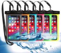 الصيف: حقيبة ماء العائمة الحالات الهاتف المحمول أكياس المياه دليل الحقيبة حالة الغطاء في الهواء الطلق العالمي tpu شفافة الهاتف المحمول pvc الشاطئ السباحة تغليف تغليف