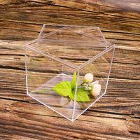 Takı Torbalar, Çanta H9ed Plastik Kutu Kapaklı Küp Ile Küçük Mini Parti Hediye Düğün Şeker Çeşitli Boyutu Ekran
