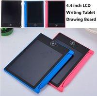 4.4 인치 작은 크기 스마트 드로잉 쓰기 보드 LCD 태블릿 디지털 휴대용 낙서 보드 LED 패널 장난감 어린이를위한 성인 메모 패드