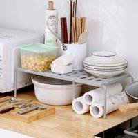 1-Tier-Küchenregal Lagerhalter-Racks unter Waschbecken Badezimmer-Fußbodengestell einziehbare Racks