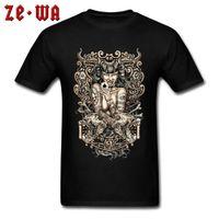 CCCCSPORTSEXY Devil diable Sorcies Pin up T-shirt T-shirt Tatoué Thône gothique T-shirts gothiques Mens de mode Hipster T-shirt Homme 3D Imprimer