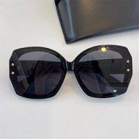 68k Mode Sommer Stil Multicolor Sonnenbrille UV 400 Schutz Für Männer und Frauen Vintage Schmetterling Typ Plankenrahmen Top Qualität Kommen Sie mit Case Klassische Brillen