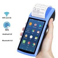 Сканер камеры штрих-кода Ручной тепловой принтер Терминал устройства встроенные в Bluetooth 58 мм Wi-Fi принтеры