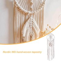 Decorative Objects & Figurines Macrame Dream Catcher Room Decoration Boho Decor Girls Kids Nursery Gifts