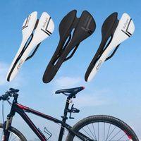 Bike Saddles Seat Good Filling Saddle Part Ergonomic Rut Absorption Bicycle For