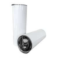 600ML 20OZ Tumbler Mugs Sublimation Tumblers Blanks Stainless Steel Tapered Straight Cups Brief Water Bottles Coffee Mug 20 OZ