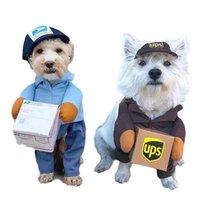 Hundebekleidung Counier Cosplay Kleidung Katze Lustige Haustier Kleidung Rolle Spiel Klage Express Paket Piratanzüge Halloween Party