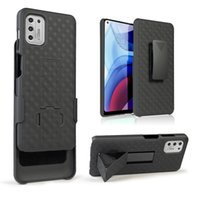 Combo Heavy Duty Rugged Cases With Kickstand Belt Clip Holster Shell For MOTO G Stylus Play Power 2021 Samsung S20 FE S21 Ultra A12 A52 A72 iPhone 11 12 Pro Max