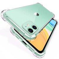 iPhone 13 12 11 Pro MINI XR XS X 8 7 6 Plus SE 삼성 S20 S21 Ultra Fe Soft TPU 실리콘 투명한 커버 보호 케이스에 대한 프리미엄 Shockproof 클리어 전화 케이스