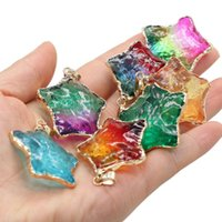 Pendant Necklaces Natural Stone Necklace Pendants Reiki Heal Star Shape 7 Chakras Energy Crystal For Jewelry Making Women Amulet Gifts