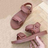 Bonjean Luxury Canvas Shoes Desinger Slipper Brand Summer Flat Women's Sandal Casual Slides Outdoor Female Flip Flops 210607