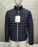 20ss 남성 다운 자켓 디자이너 남자 의류 3 색 고품질 프랑스 조수 브랜드 코트