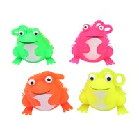 Frog flash LED children's toy TPR material