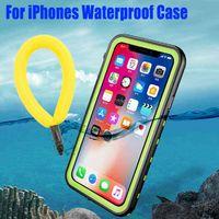 IP68 Impermeable para iPhone 12 11 Pro Máx XS MAX XR 6 7 8 CASE REDPEPPER CUBIERTA DE LA ARMADA DE CORRECTO BIVEO SIN DEATURA DE AGUA G0929