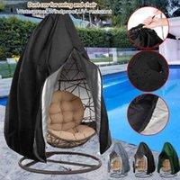 Tiendas de campaña y refugios Cubierta de polvo de silla de sillón exterior con cremallera Caso protector Huevo