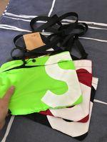 20 حقيبة الكتف رسول حقيبة الظهر المدرسية للجنسين فاني حزمة أزياء السفر دلو حقيبة يد الخصر