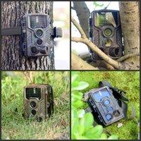 H881 비디오 감시 트랙 트레일 카메라 3 PIR 센서 사냥 및 스카우트 방수 카메라 야생 동물 관찰