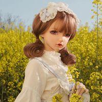 Máscaras de festa (km910) qualidade artesanal feminino menina resina meia cabeça cosplay papel japonês jogar bjd kigurumi máscara crossdresser boneca