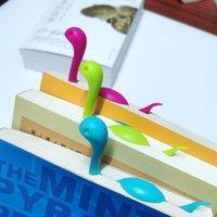 Büro 3D liest Lesezeichen Sorte Tierseite Marker Ordner Dinosaurier Lesezeichen Box-Verpackung Niedlichen Cartoon Buchmarke für Kinder