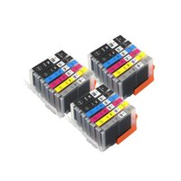 Renk PGI770 CLI771 PGI-770BK CLI-771 Canon Pixma MG7770 Yazıcı Kartuşları için Tam Cli-771 Uyumlu Mürekkep Kartuşu