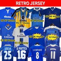 CFC Drogba 2011 Torres Retro Soccer Jersey Lampard 11 12 13 Final 96 97 99 82 85 87 89 90 كرة القدم قميص خمر Crespo Classic 03 05 06 Cole Zola Vialli 07 08