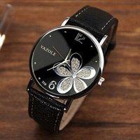 Designer Guarda Marca Orologi da orologi di lusso Casual in pelle al quarzo cinturino in pelle rotonda orologio analogico Polsino