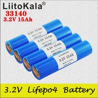 Liitokala 33140 3.2V 15AH LIFEPO4 Batterie 12V 24V 36V 48V 20AH 30ah Ebike Electric Bicycles RV Wohnmobile Roller