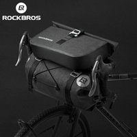 ROCKBROS Bicycle Bag Big Capacity Waterproof Front Tube Cycling Bags MTB Handlebar Pouch FrontFrame Trunk Pannier Bike Accessories