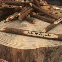 Ballpoint Pens Creative Vintage Mano hecho a mano de madera Pen / Pluma de ramita Niza Regalo School Office Supplies