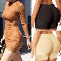 20pcs Mujeres Hip acolchado Bulifter Bragas Falso Culo Shorts Cuerpo Shaper Fake Hip Shapewear adelgazar ropa interior sin fisuras correas de encaje AP303